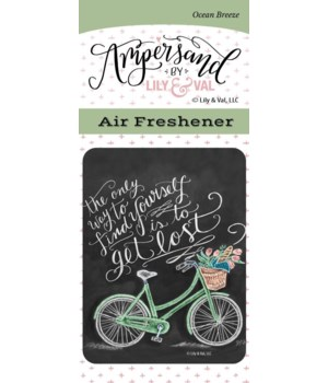 To Get Lost Air Freshener (Ocean Breeze)