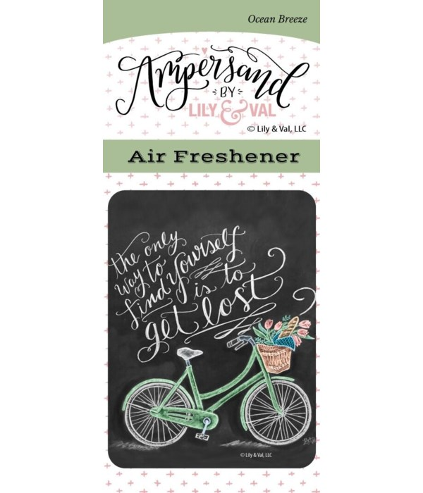 To Get Lost Air Freshener (Ocean Breeze)