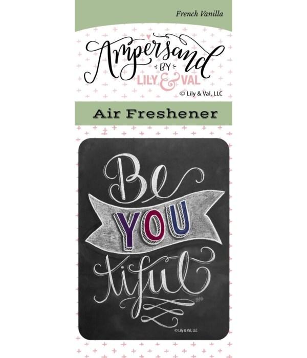 Be You Tiful Air Freshener (French Vanil