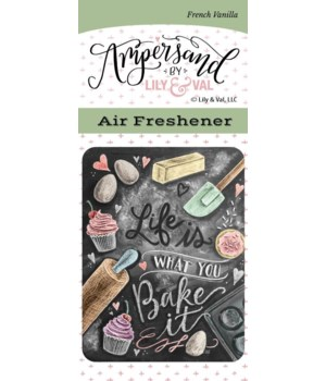 Bake It  Air Freshener (French Vanilla)