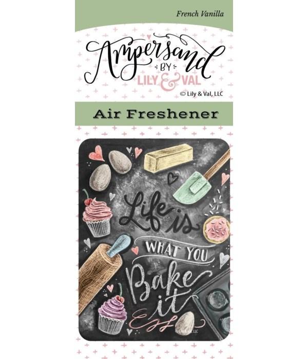 Bake It  Air Freshener (French Vanilla)