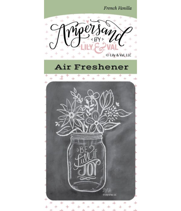 Full of Joy Air Freshener (French Vanill