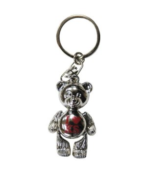 KS Keychain Metal Teddy Bear