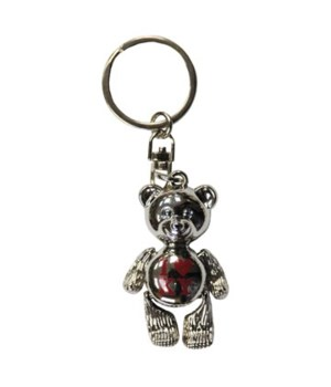KY Keychain Metal Teddy Bear