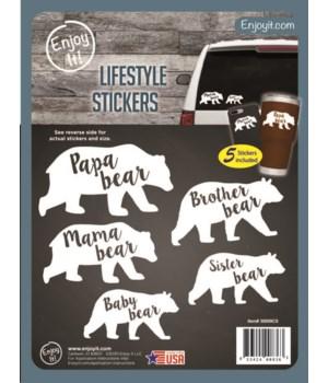 Mama Bear / Baby Bear Stickers