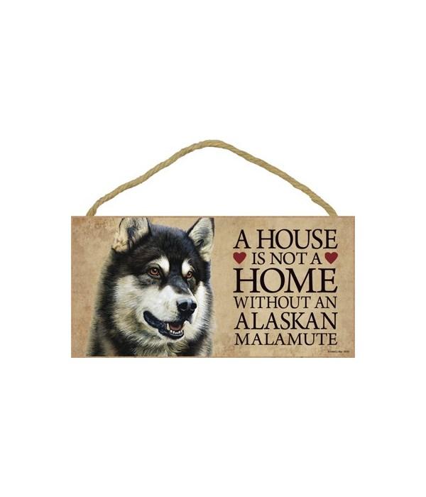 Alaskan Malamute House 5x10