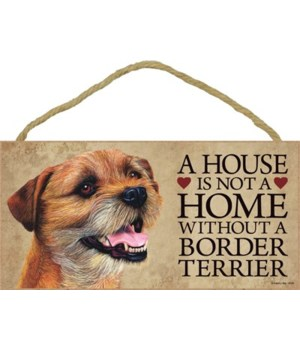 Border Terrier House 5x10