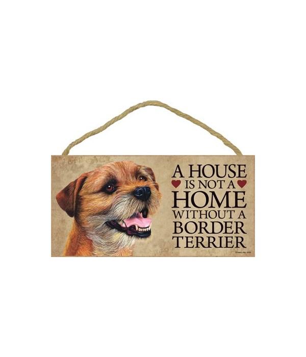 Border Terrier House 5x10