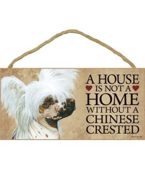 Chinese Crested House 5x10