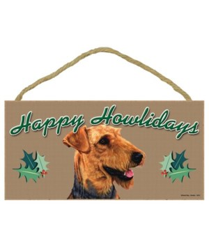 Airedale  Howliday 5x10