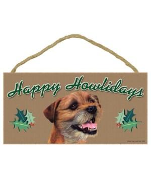 Border Terrier  Howliday 5x10