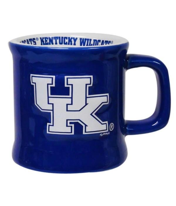 U-KY Mug Ceramic Relief Logo 10oz