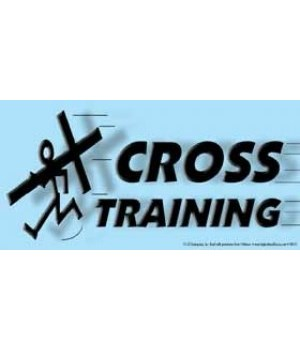 Cross Training. 4x8 Car Magnet