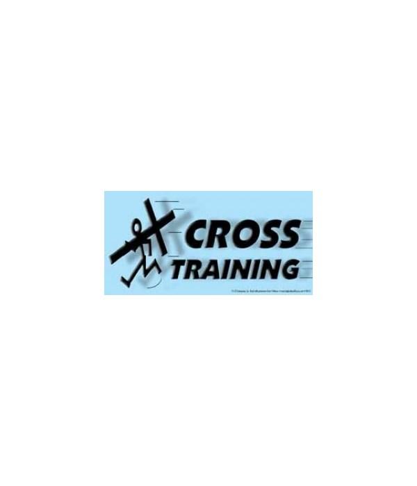 Cross Training. 4x8 Car Magnet