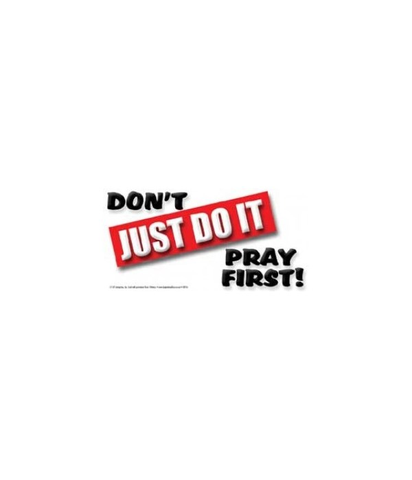 Don't just do it. Pray first. 4x8 Car Ma