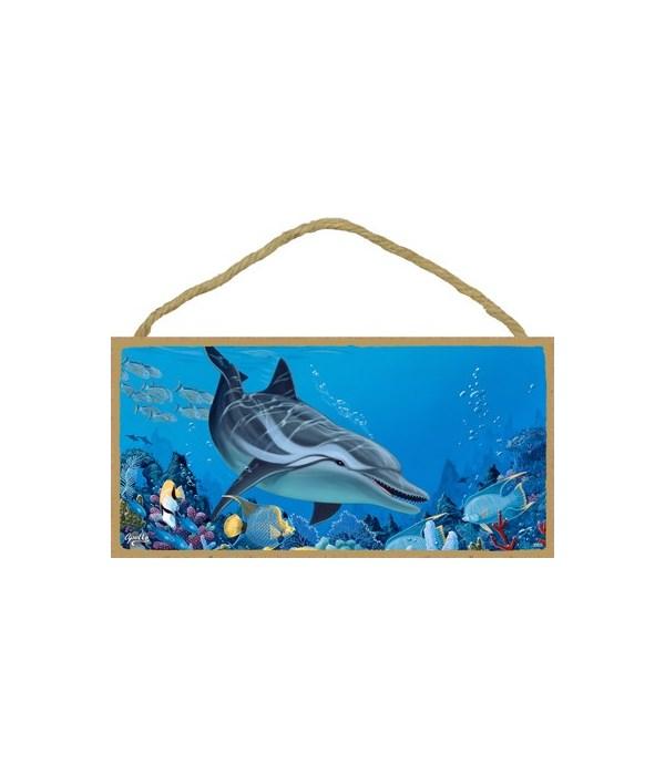 Apollo - (no IMPRINT) Dolphin diving to