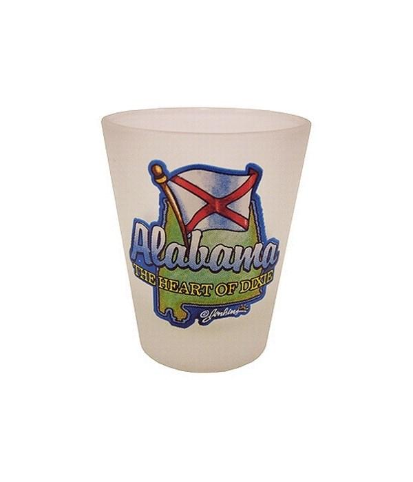 Alabama Shotglass