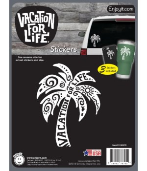 Palm Tree - Vacation For Life Stickers