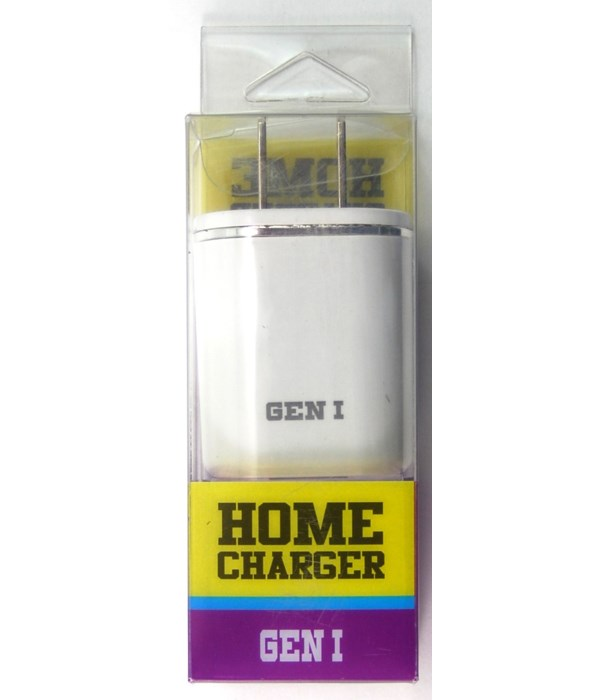 *2.1A Home Charger White 10PC Unit