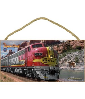 The Super Chief - Santa Fe (Train) 5x10
