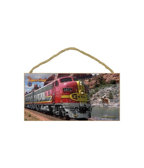 The Super Chief - Santa Fe (Train) 5x10