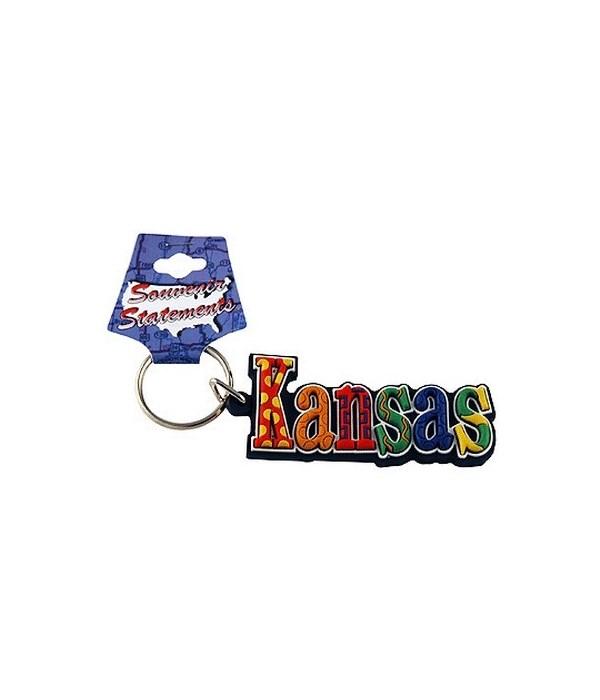 KS Keychain PVC Festive