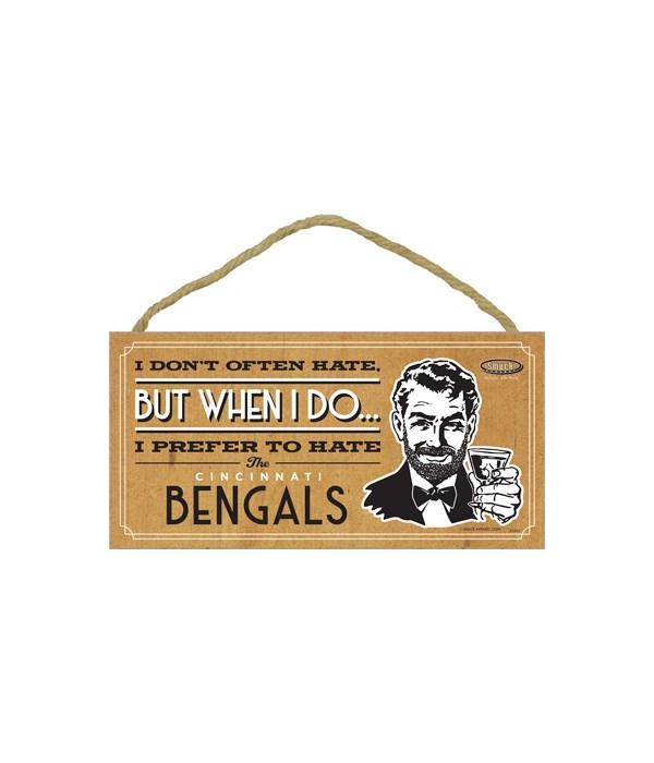 I prefer to hate Cincinnati Bengals