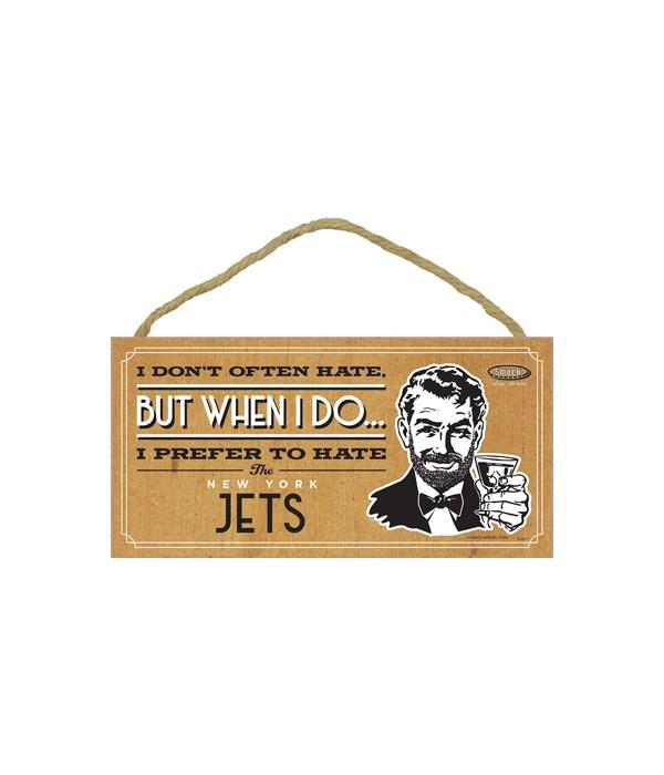 I prefer to hate New York Jets