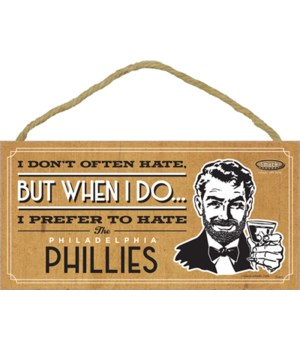 I prefer to hate Philadelphia Phillies