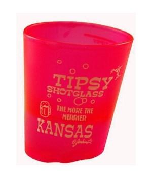 KS Shotglass Tipsy 4/A