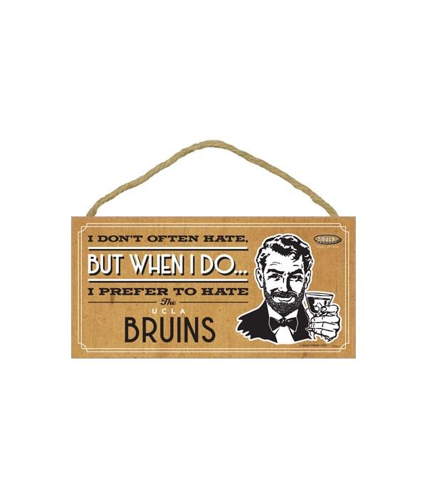 I prefer to hate UCLA Bruins