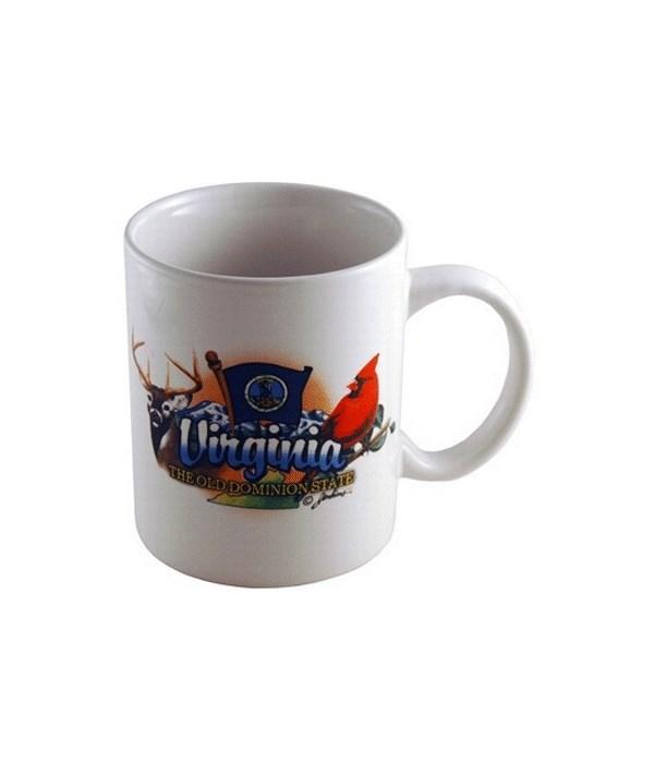 Virginia Mug Elements