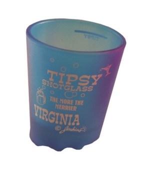 Virginia Shotglass Tipsy 4/A