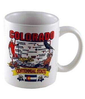 CO Mug State Map