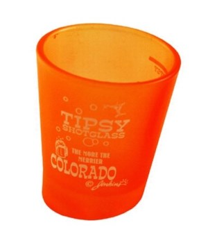 CO Shotglass Tipsy 4/A