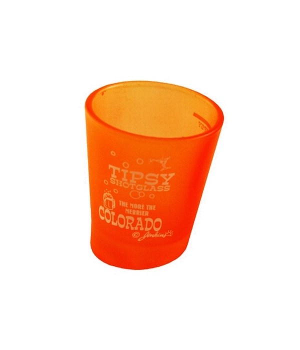 CO Shotglass Tipsy 4/A