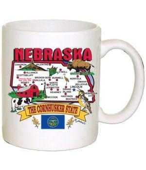 NE Mug State Map