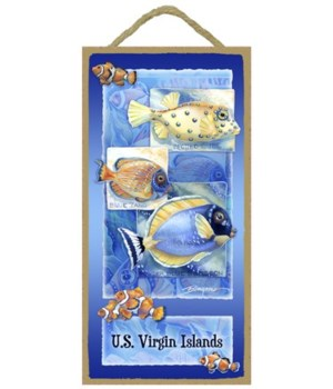 Bergsma - Spotted cube, blue tang, powde
