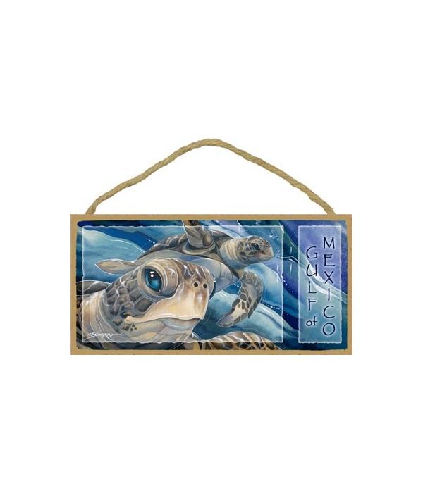 Bergsma - Close up sea turtles face and