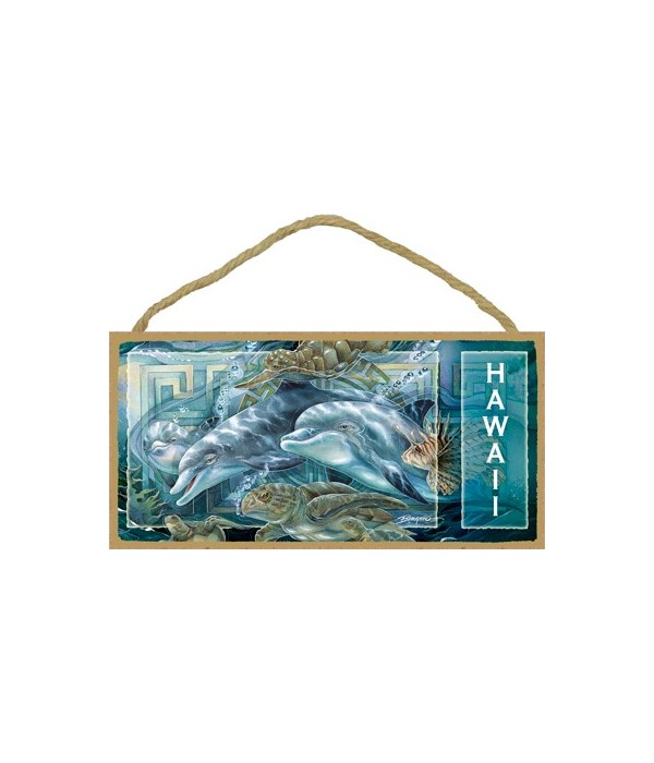 Bergsma - 3 Dolphins, 3 sea turtles and