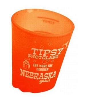 NE Shotglass Tipsy 4/a