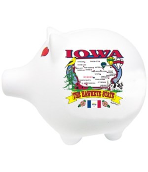 Iowa Bank Pig State Map