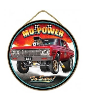 "Mo' Power '64  Plymouth 10"" sign"
