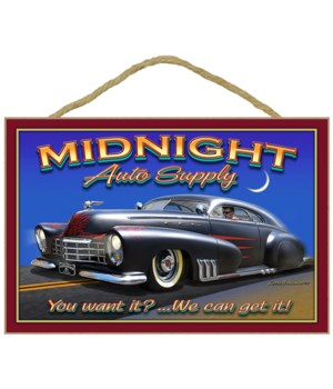 Midnight Auto Supply 7x10.5
