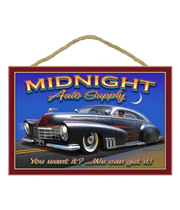 Midnight Auto Supply 7x10.5