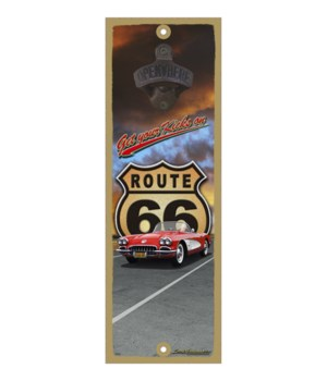 Get your kicks on Route 66 (Corvette)