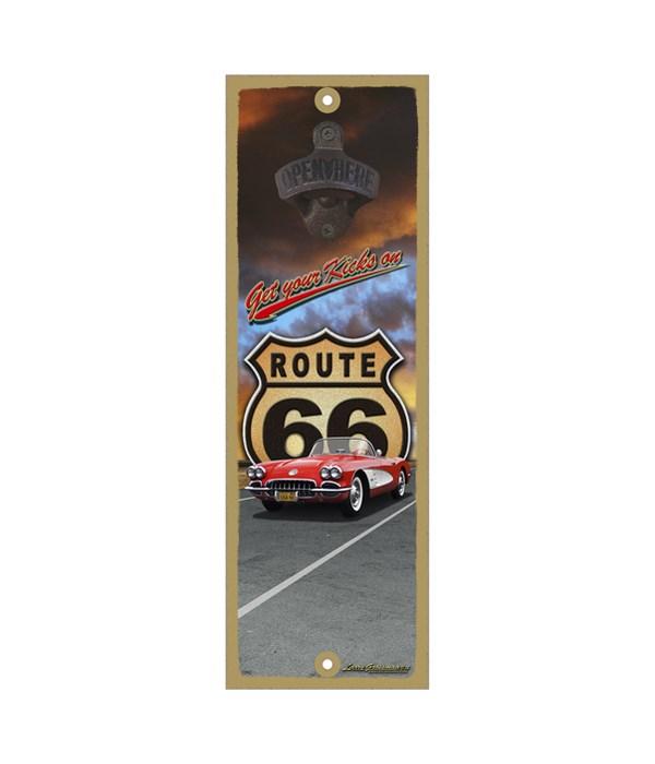 Get your kicks on Route 66 (Corvette)