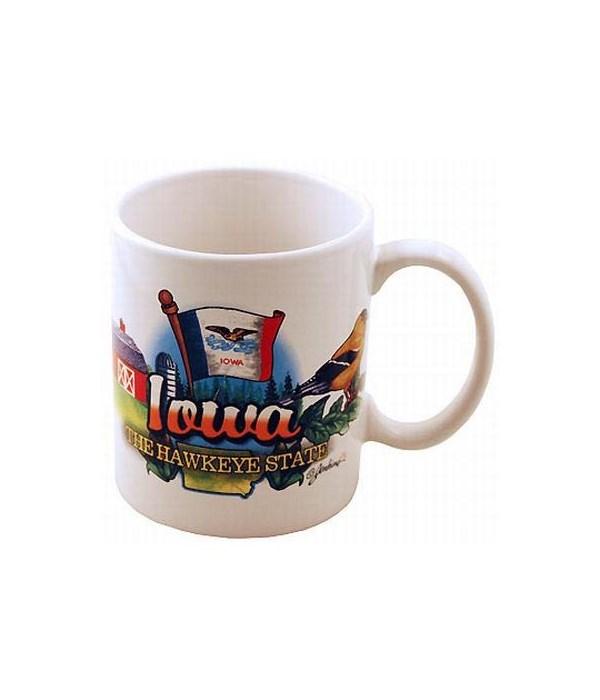Iowa Mug Elements
