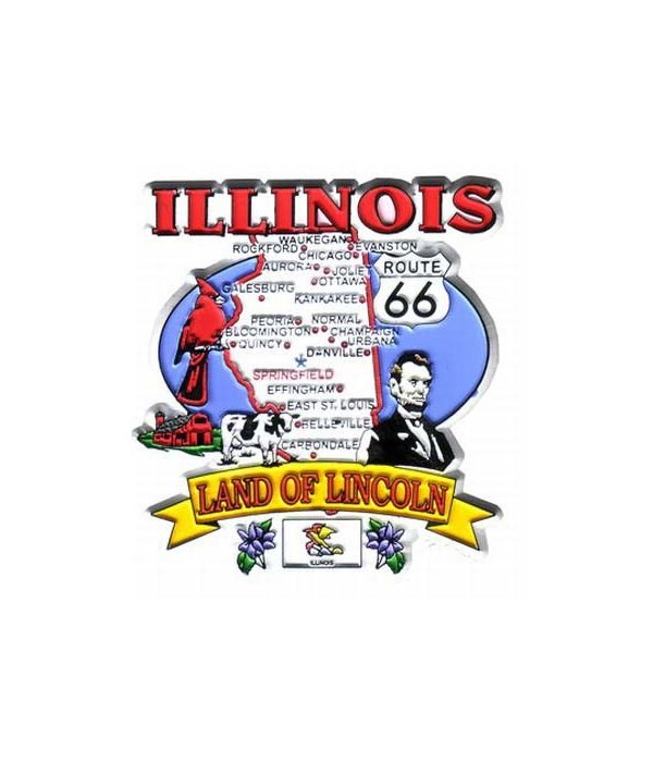 IL Magnet 2D State Map