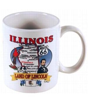 IL Mug State Map